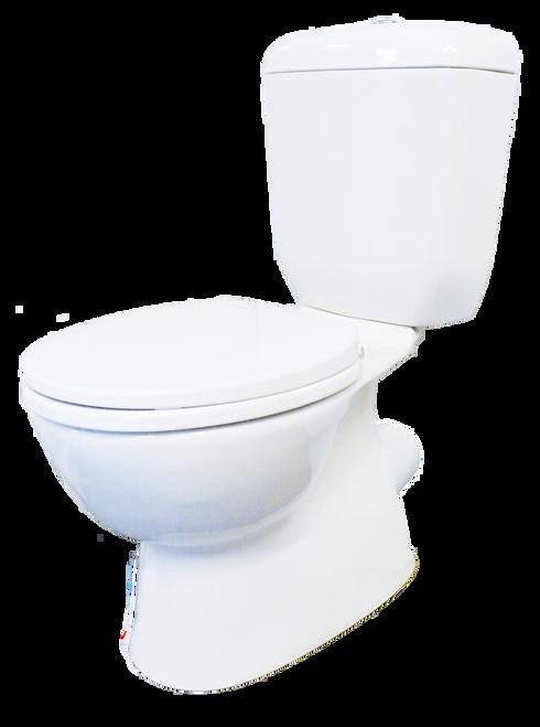 Classic Close Coupled P Trap Toilet Suite [134629]