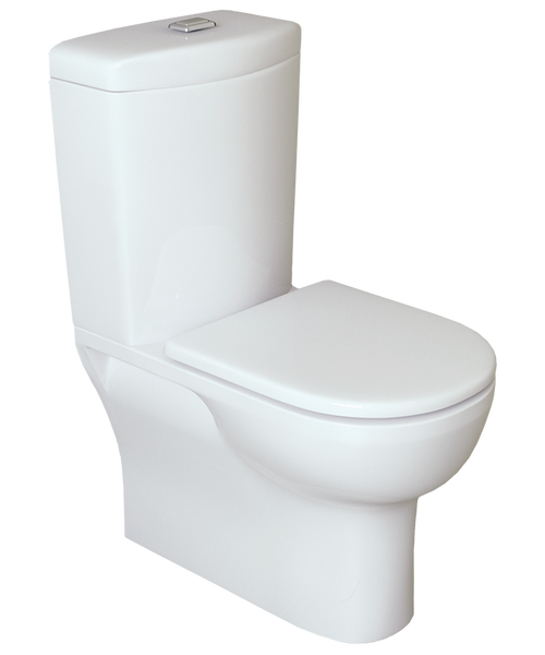 Classic Back to Wall 80-150mm Set Out S Trap Toilet Suite [136419]