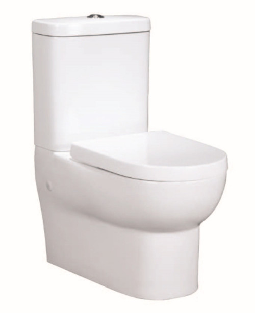 Banksia Wall Faced Back Entry Toilet Suite [124003]