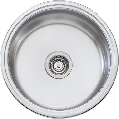 Solitaire Round Bowl Topmount Or Undermount Sink [069695]