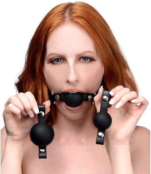 Strict Interchangeable Silicone Ball Gag Set