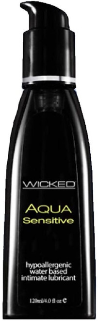 Wicked Aqua Sensitive Waterbased Hypoallergenic Unscented Lube