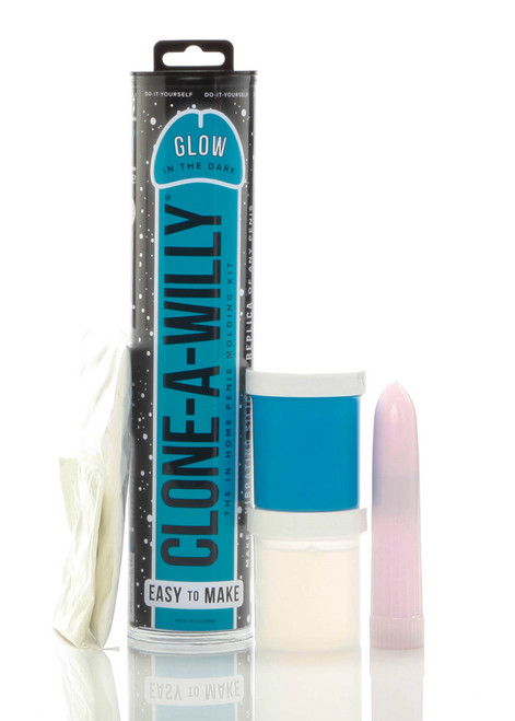 Clone A Willy Blue Glow In The Dark