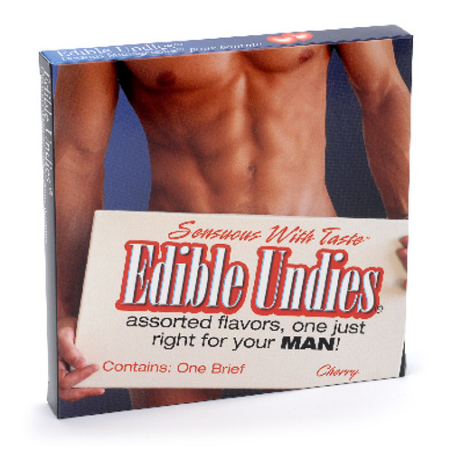 Male Edible Brief - Strawberry and Champagne