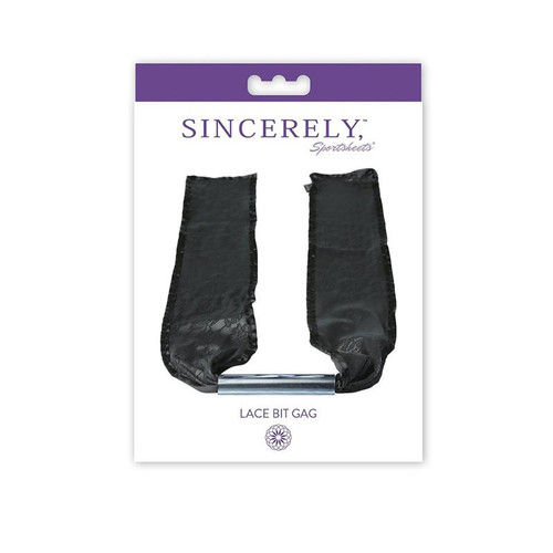 Sincerely, SS Lace Bit Gag