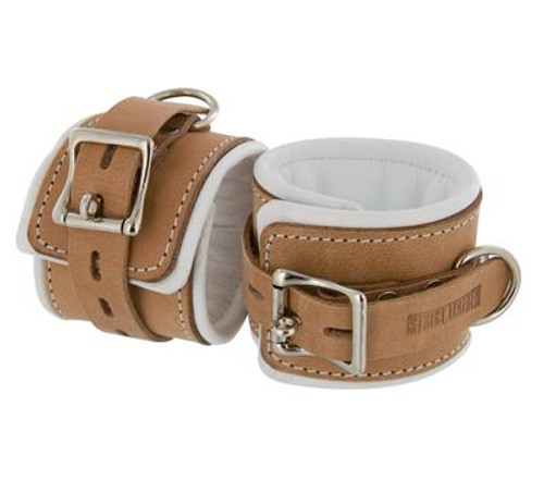 Lock your sub down in these stylish and comfortable Strict Leather Padded Hospital Style Cuffs.