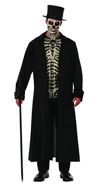 You are definitely Bad to the Bone when you are wearing this Skull Mob Costume for Adults!