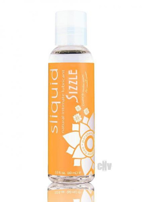 Sliquid Sizzle Water Based Personal Lubricant 2oz