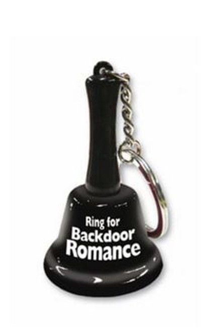 Everyone likes a little humor when it comes to sex and the Ring for Backdoor Romance keychain will definitely assist you in adding some fun.