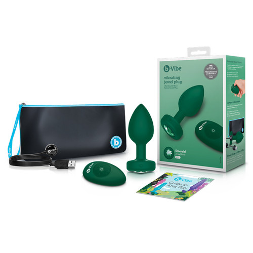 b-Vibe Vibrating Jewels - Remote Control- Rechargeable