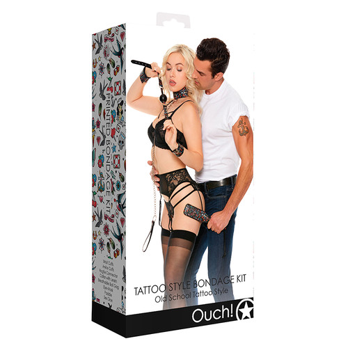 Ouch Old School Tattoo Bondage Kit