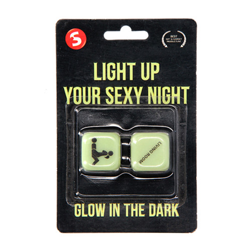 Light Up Your Sexy Night Dice - Glow in the Dark