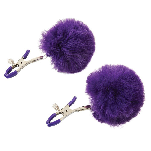 Sincerely Fur Nipple Clips Adjustable Nipple Clamps