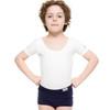 Boys Ballet Company Short Sleeve Boys Leotard