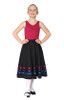 Rosalle School of Dance RAD Character Skirt (Brights)