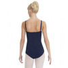 Rebecca Jackson Dance Academy Navy Camisole Leotard With Bra Tek