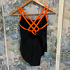 Wear Moi Double Strap Cross Camisole Leotard