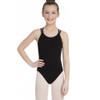 Hamilton Dance Academy Black Double Strap Camisole Leotard