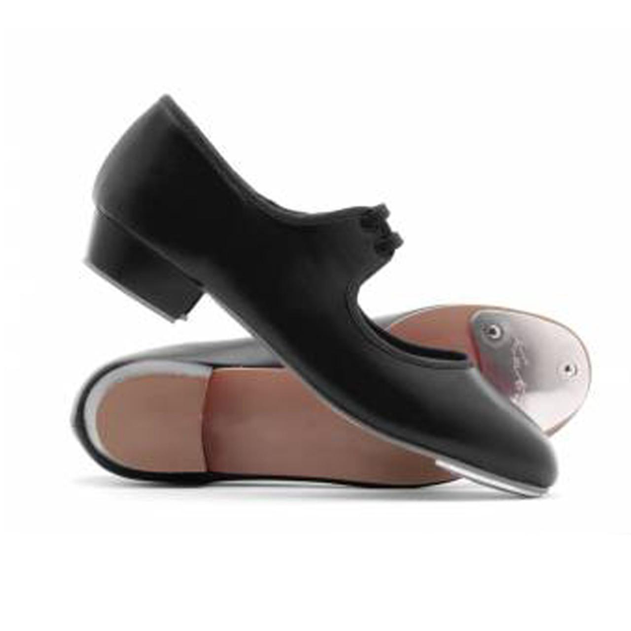59034cc4b Katz PU Low Heel Toe Tap Fitted - 4 dance