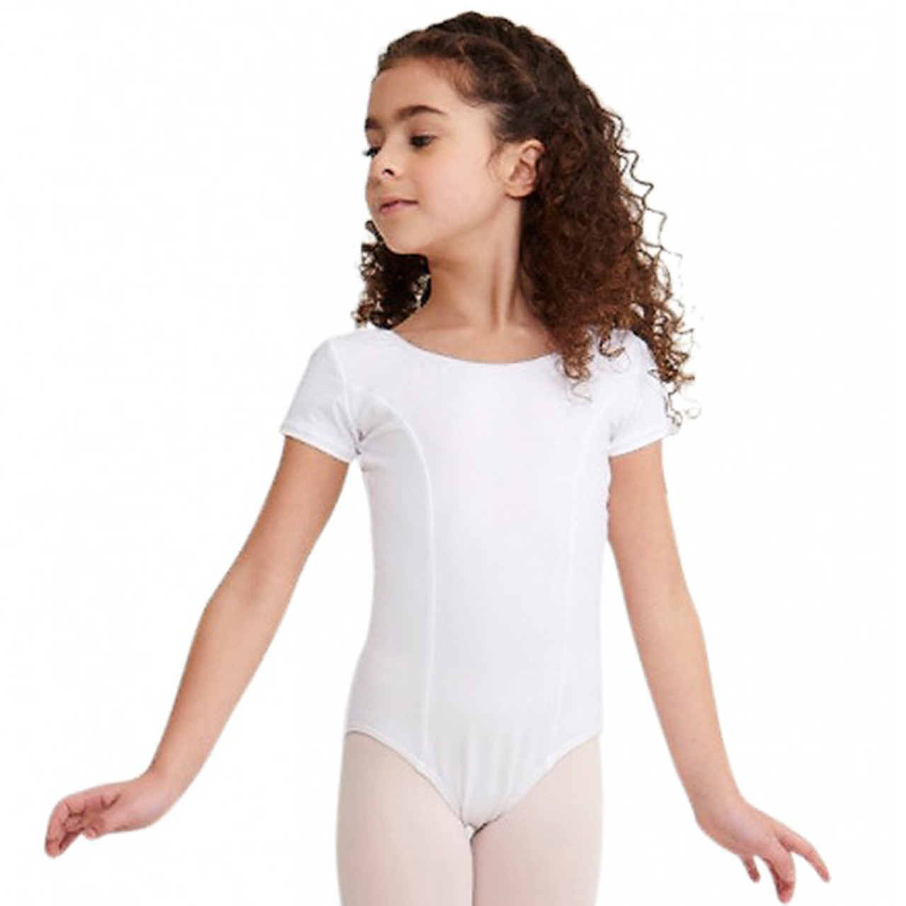 64ea4b4d2d72 Capezio Princess Seam Short Sleeve Leotard Child - 4 dance