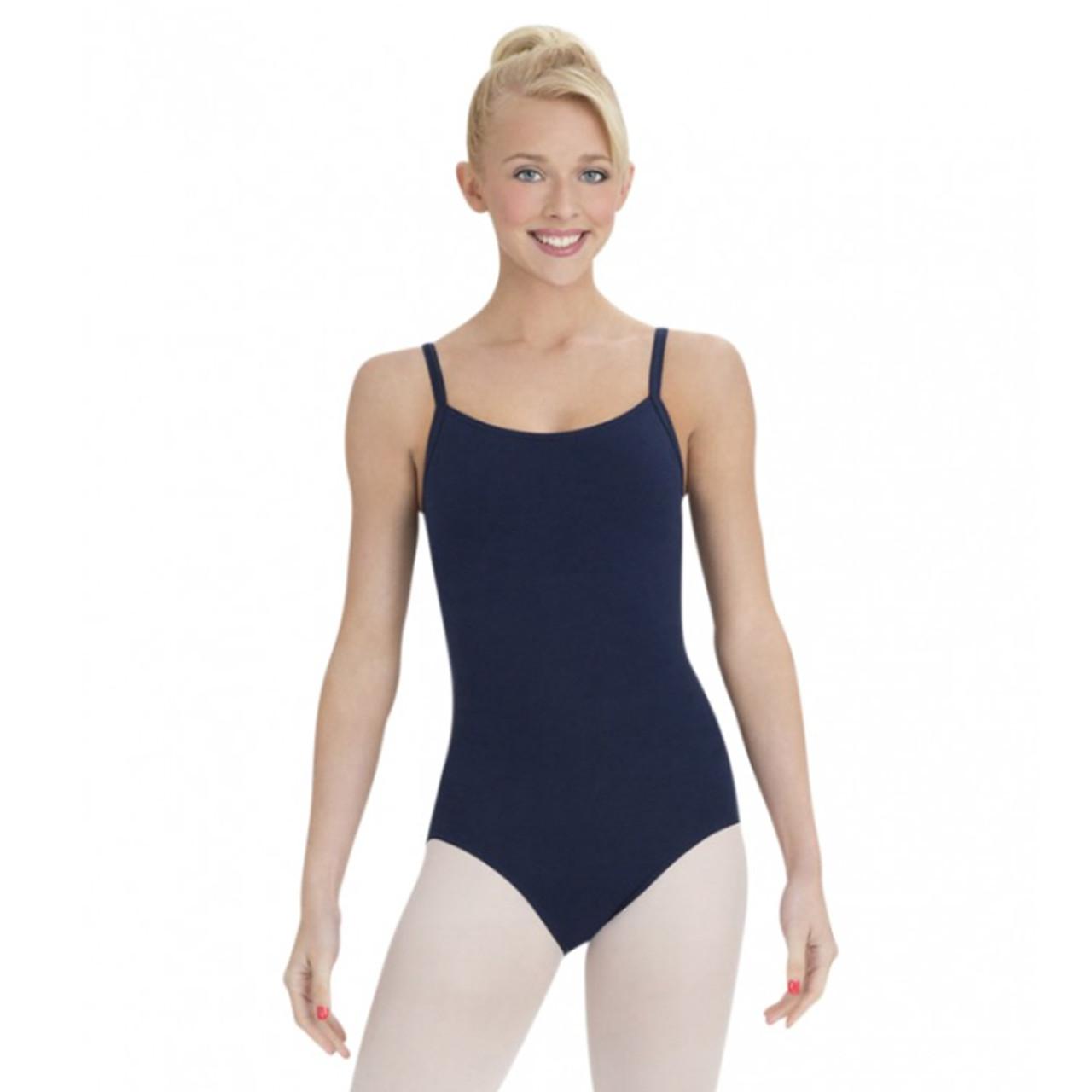60ef733a6 Susan Robinson School of Ballet Navy Camisole Leotard With Bra Tek ...