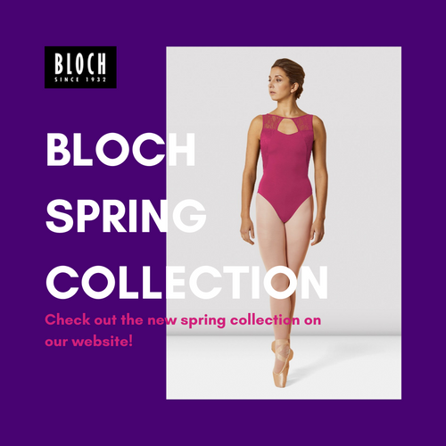 NEW Bloch Spring Collection Now Available