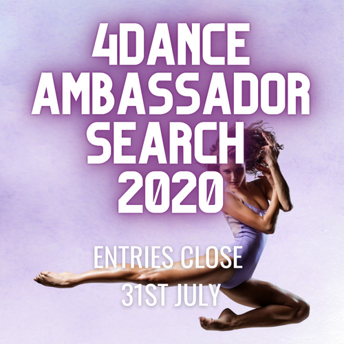 4 Dance Ambassador Search 2020