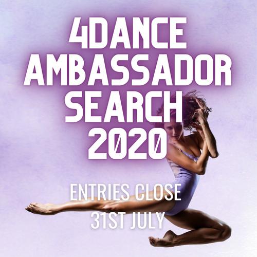 4 Dance Ambassador Search 2020