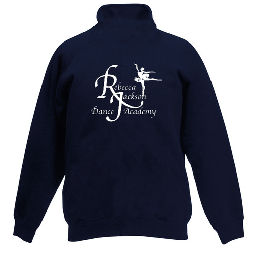 Rebecca Jackson Dance Academy Branded Zipper Top