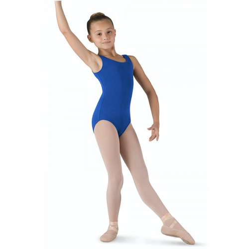Molesey School of Ballet Basic Round Neck Tank Leotard (Royal)