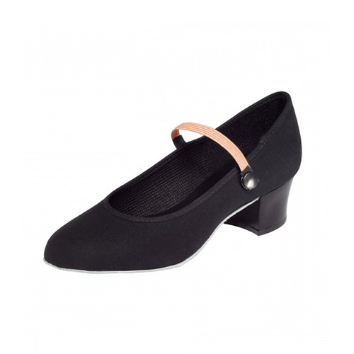 Esher Ballet School RAD Cuban Heel Canvas Character Shoe