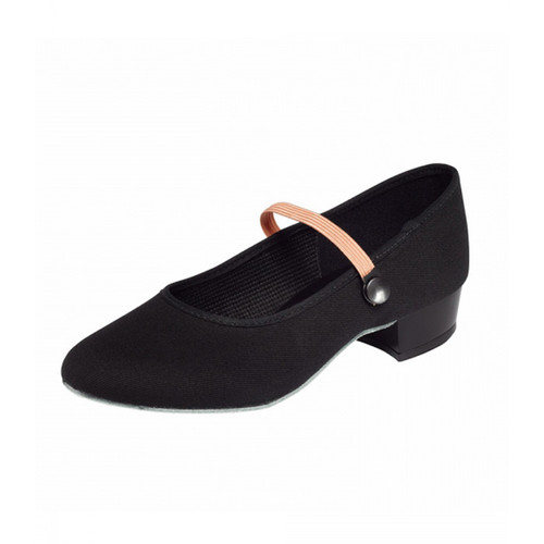 Esher Ballet School RAD Low Heel Canvas Character Shoe