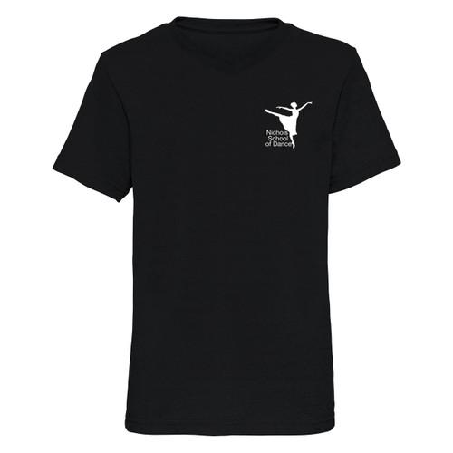 Nichols School of Dance Branded V Neck T-Shirt