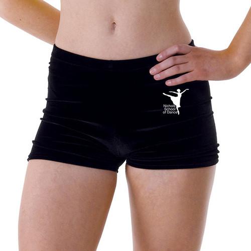 Nichols School of Dance Branded Hot Pants