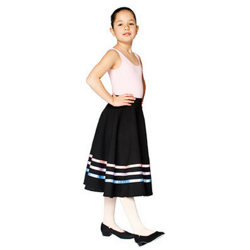 Horsham School of Dance RAD Character Skirt (Pastel Ribbons)