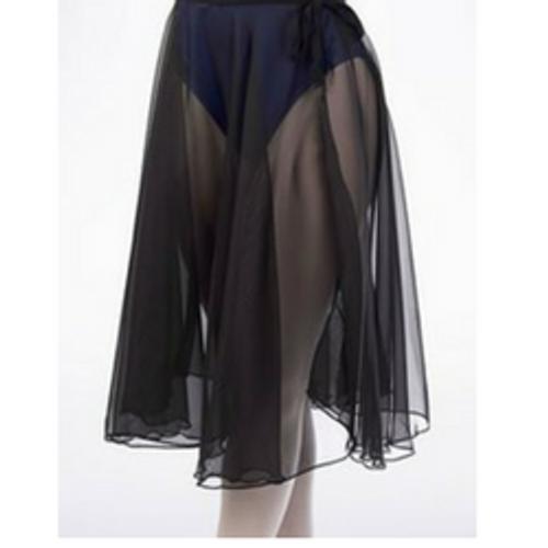 08319e7378 Horsham School of Dance Black Chiffon Wrap Skirt - 4 dance
