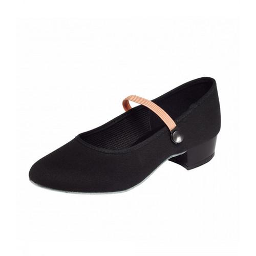 Surrey Academy RAD Low Heel Canvas Character Shoe