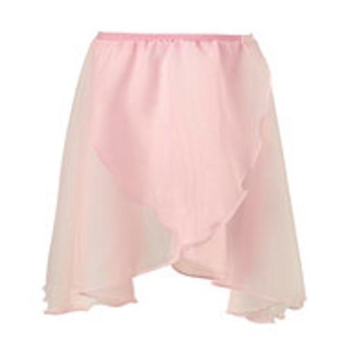 Surrey Academy Pink Chiffon Wrap Skirt