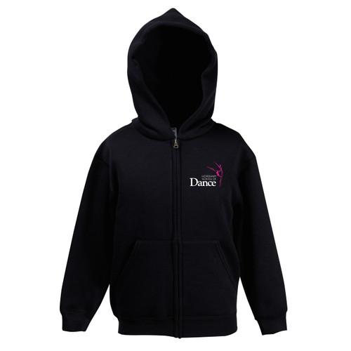 Horsham School of Dance Branded Zipped Hoodie