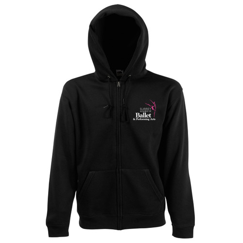 Surrey Academy Branded Zipped Hoodie