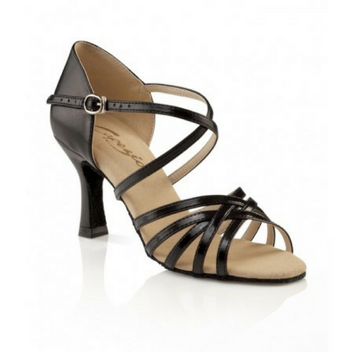 "Capezio Rosa Social Latin Dance Shoe Black With 2.5"" Heel"