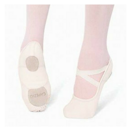 Arts Education Hanami Split Sole Canvas White Ballet Shoe