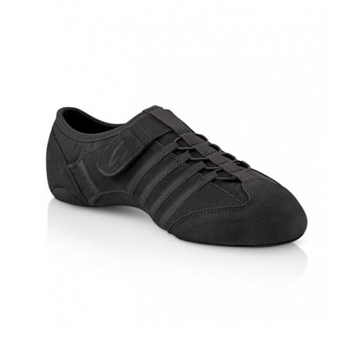 Arts Education Leather Jag Jazz Shoe Rubber Sole (Slip On Split Sole)