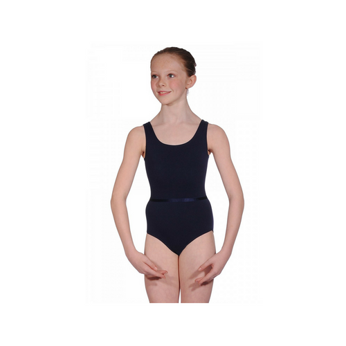 Freed Aimee Sleeveless RAD Regulation Navy Leotard