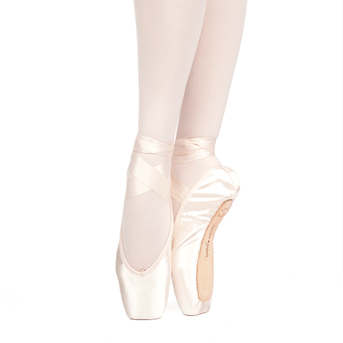 Russian Pointe Muse Pointe Shoes With Drawstring (U-Cut)