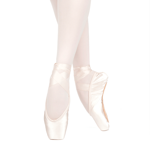Russian Pointe Lumina Pointe Shoes with Drawstring (U-Cut)
