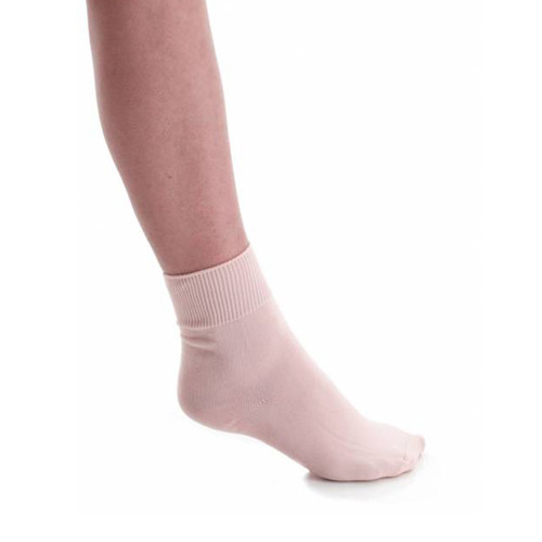 Rosalle School of Dance Pink Ballet Socks