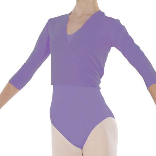 Dance First Lavender Cotton Freed Ballet Wrap