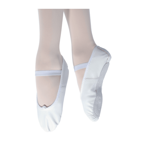 Dance First RV Ophelia White Leather Ballet Shoe