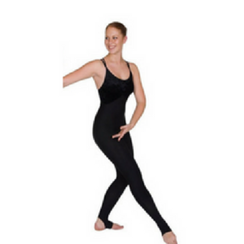 Dance First Evora Unitard Black